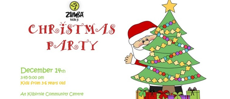 Zumba Christmas Party Images.Zumba Kids Jr Christmas Party