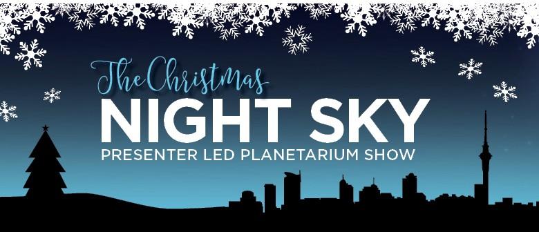 Christmas Night Sky