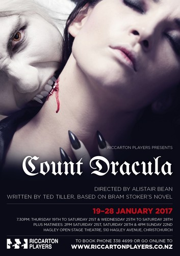 count dracula christchurch eventfinda when