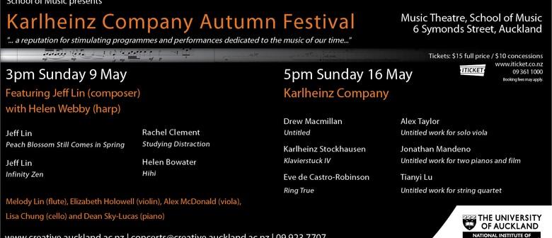 Karlheinz Company Autumn Festival