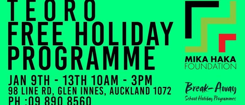 Te Oro Breakaway Holiday Programme