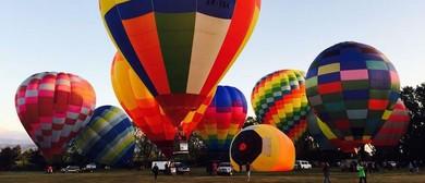 Wairarapa Balloon Festival - Mass Ascension