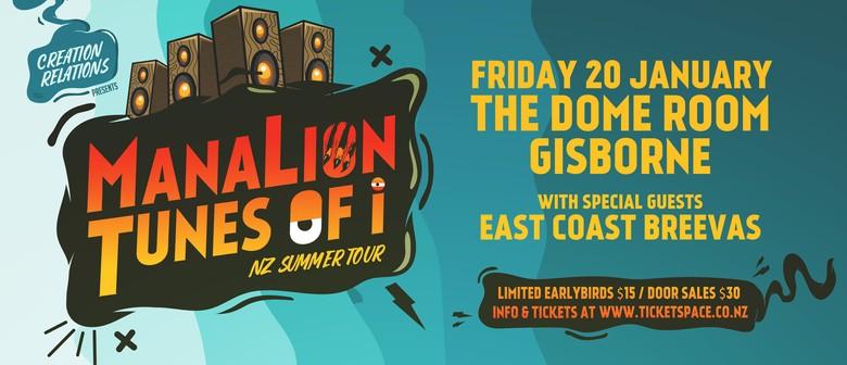 ManaLion & Tunes Of I - NZ Summer Tour