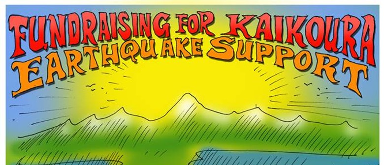 Rock 'n' Roll Fundraising for Kaikoura