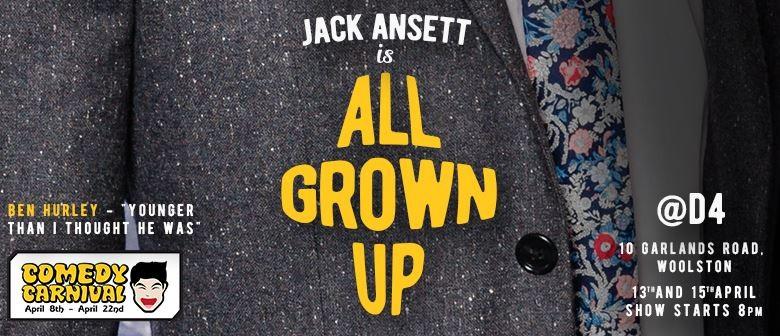 Jack Ansett Is All Grown Up