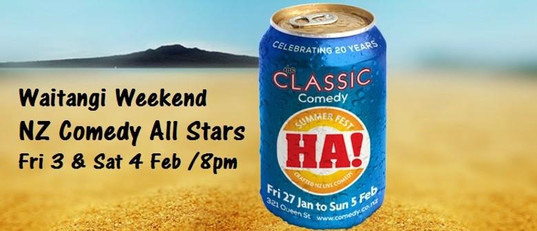 HA! Comedy Special - Waitangi Weekend Showcase