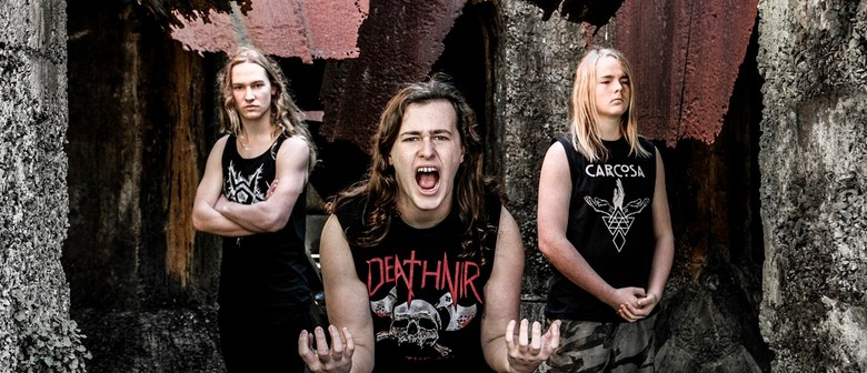 Alien Weaponry At Auckland Live Summer In the Square