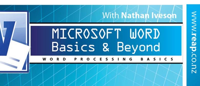 Microsoft Word Basics & Beyond Afternoon Session