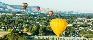 Wairarapa Balloon Festival - Meander Over Martinborough