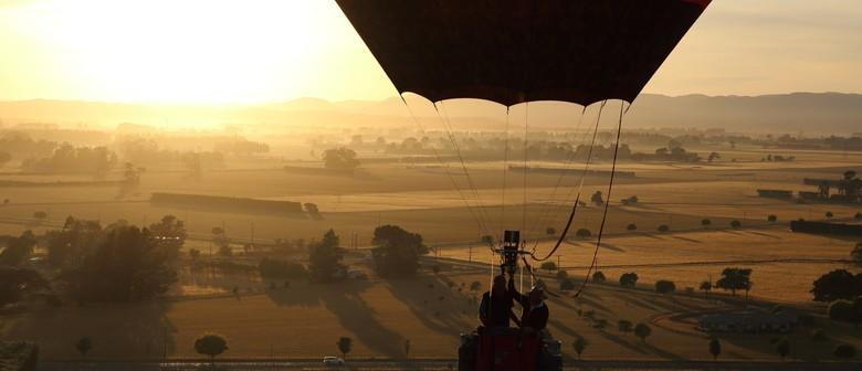 Wairarapa Balloon Festival - Balloon Ride Vouchers: CANCELLED