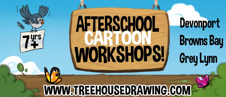 Afterschool Cartoon Workshop - Grey Lynn
