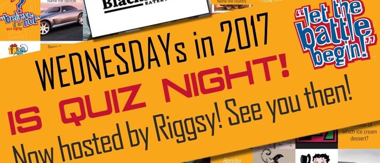 Quiz Night With Riggsy