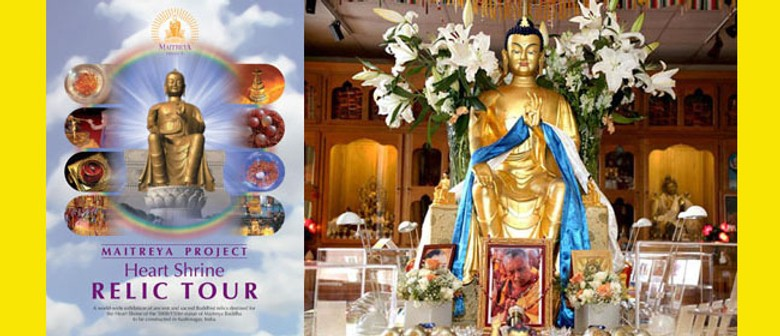 Relics of the Buddha and other Buddhist Masters in Auckland