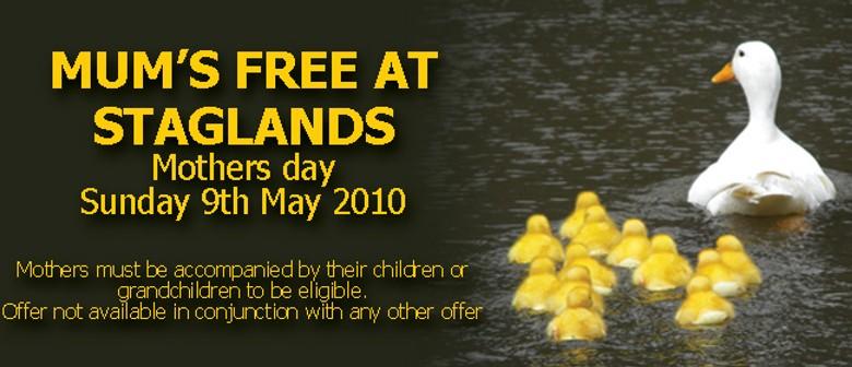 Mum's free at Staglands