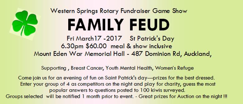 Family Feud Rotary Fundraiser