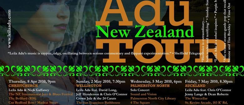 Leila Adu - NZ Tour with Dean Roberts & Jenny Lange