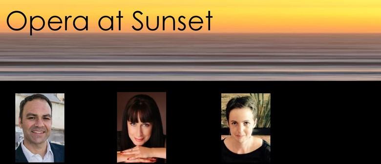 Opera At Sunset