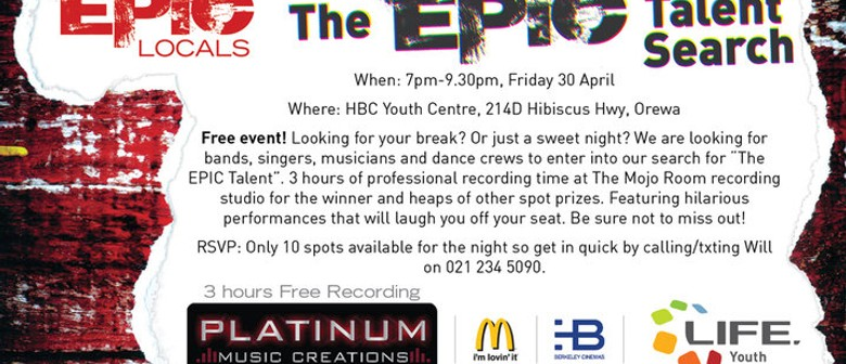 The Epic Talent Search