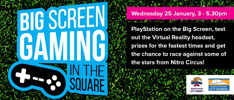 Big Screen Gaming In the Square