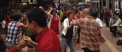 CubanFusion's Red & White Cuba Street Salsa Party