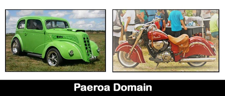 Paeroa Rotary V8 & Motorcycle Show and Swap Meet - Paeroa