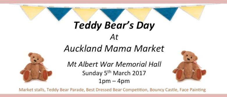 Teddy Bear Day at Auckland Mama Market