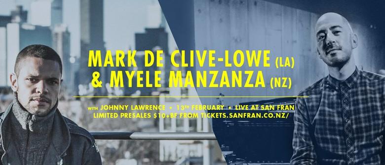 Mark de Clive-Lowe and Myele Manzanza