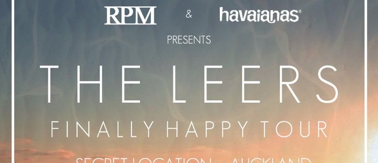 The Leers - Finally Happy Tour