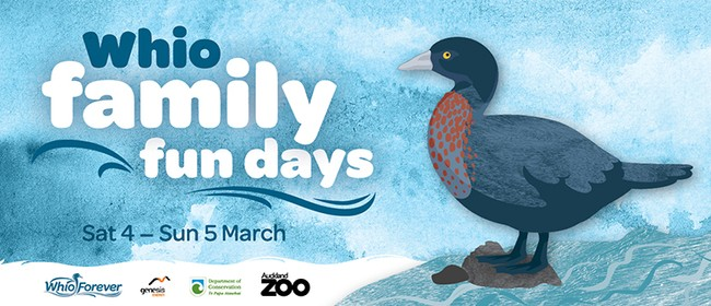 Whio Family Fun Days at Auckland Zoo