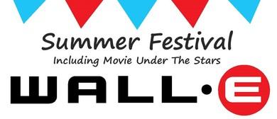 Summer Festival - Movie Under the Stars Screening Wall-E