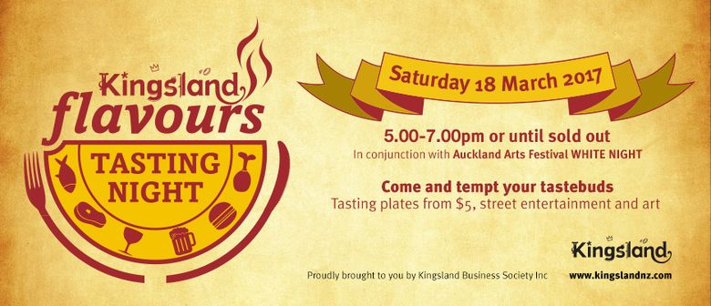 Kingsland Flavours Tasting Night