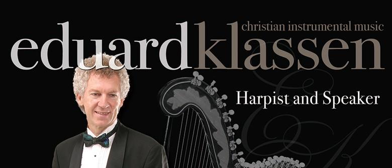 Eduard Klassen Harpist and Speaker