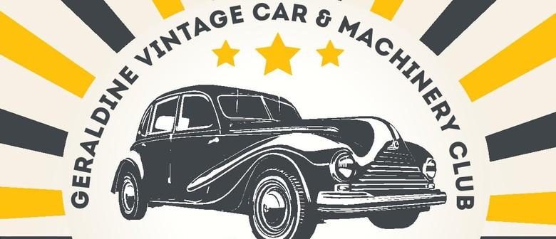 Geraldine Car and Machinery Museum 50th Celebration