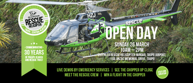 Greenlea Rescue Helicopter Open Day 2017