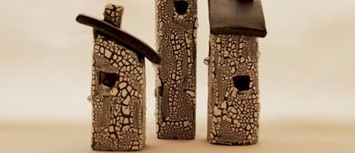 Pottery Course: Make A Set of Ceramic Tiny Houses