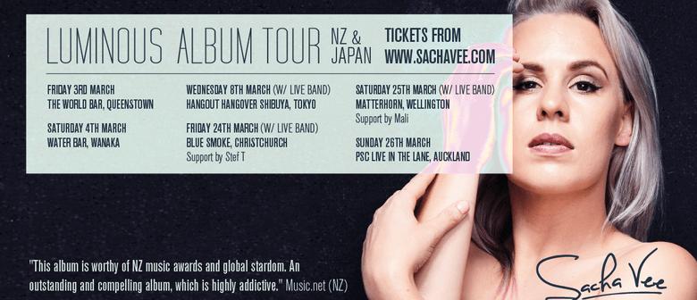 Sacha Vee - Luminous Album Tour