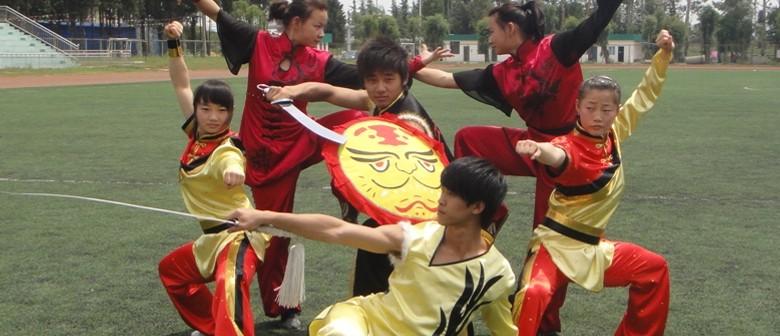 Chinese Wushu Performance