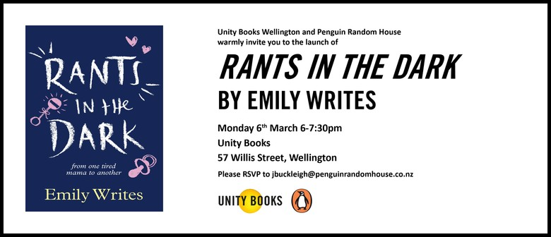 Book Launch - Rants In the Dark By Emily Writes