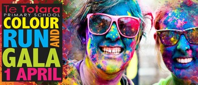 Te Totara 2017 Colour Run & Gala