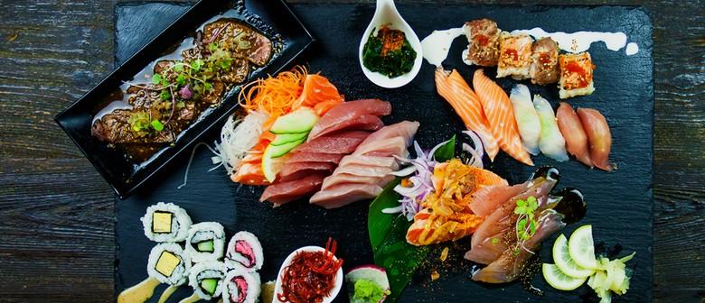 Japanese Buffet & Sake - For Singles