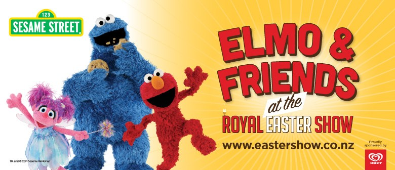 Elmo and Friends Live Show At the Royal Easter Show
