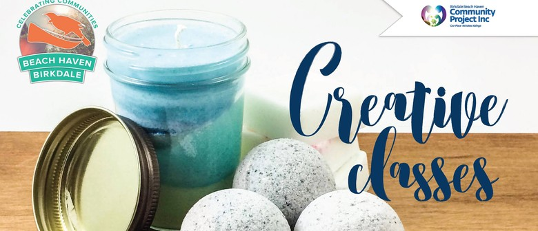 Creative Classes - Bath Bombs