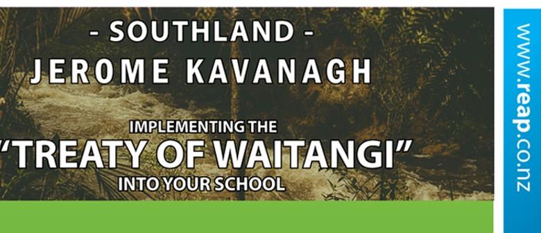 Implementing Treaty of Waitangi Into Your School