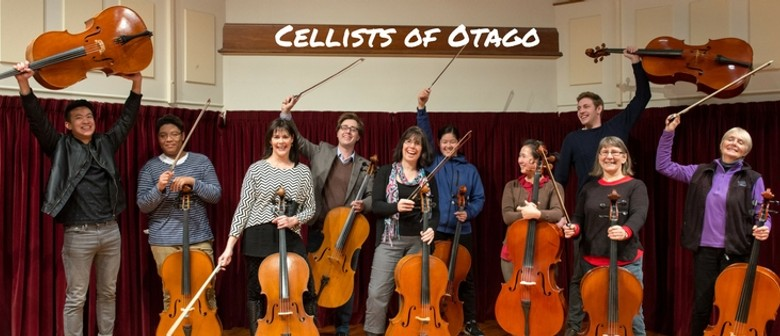Cellists of Otago Presents: Singing Cellos