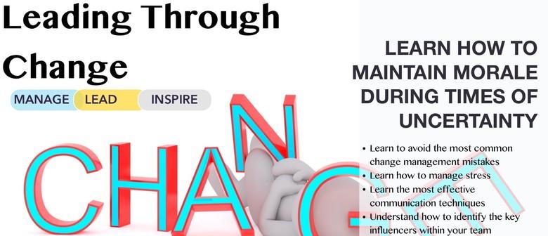 Leading Through Change: 1-Day Management Workshop