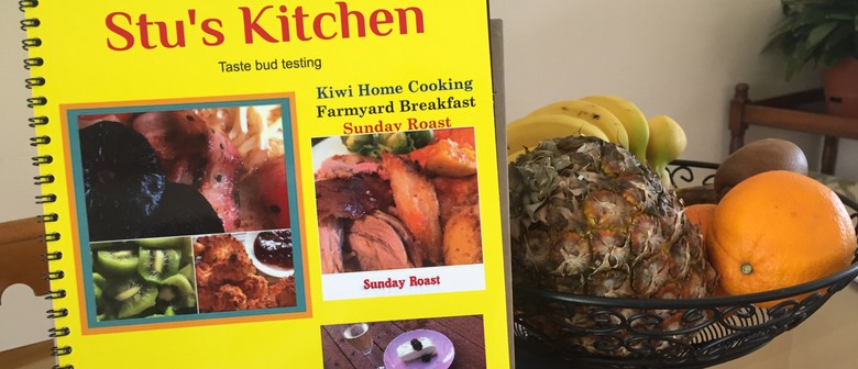 Stu's Kitchen: Taste Bud Testing Cookbook Talk