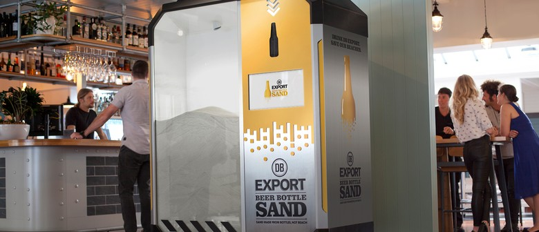 DB Export Beer Bottle Sand - Help Save the Beaches