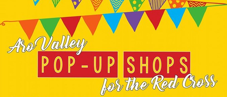Aro Valley Pop-Up Shops for The Red Cross