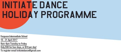 Initiate Dance Holiday Programme April 2017