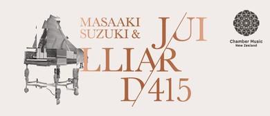 CMNZ Presents: Masaaki Suzuki & Juilliard415